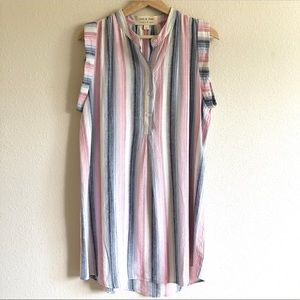 Cloth & Stone Stripe Sleeveless Dress